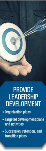 provide leadership development