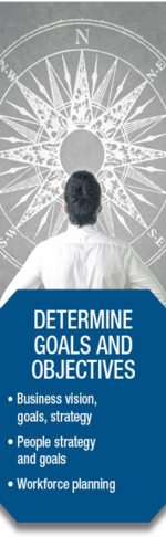 determine goals and objectives